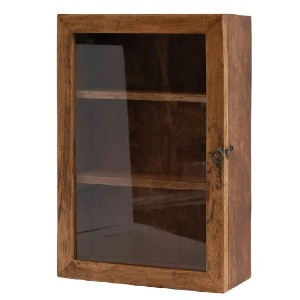 Foundry Select ConCo Solid Wood Standard Bookcase - Best Solid Wood Bookcases: Glass Front Bookcase