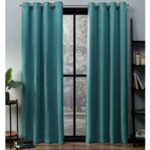 Foundstone™ Meadow Solid Room Darkening Thermal Grommet Curtain Panels (Set of 2) - Best Curtain for Winter: Luxurious Look Curtain