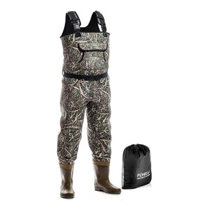 Foxelli Neoprene Chest Waders - Best Waders for Duck Hunting: Prioritizing comfort