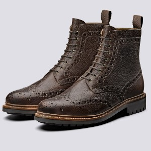 Grenson Fred - Best Boots for Men: Wipe off Excess Dirt with a Cloth to Clean