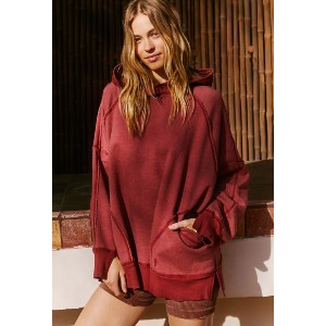 Free People Movement Roam On Graphic Hoodie - Best Hoodies for Women: Moisture-Wicking Technology for Maximum Breathability