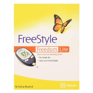 Freestyle Lite Freedom Lite Blood Glucose Meter  - Best Glucometer for Home Use: Suitable for all users