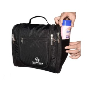 Freegrace Hanging Toiletry Bag Extra Large Capacity - Best Toiletry Bag for Travel: Large storage capabilities
