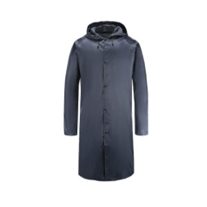 Freesmily Long Raincoat  - Best Rain Jackets For Europe: Long and Great Coverage