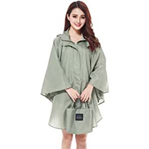 Freesmily Women's Stylish Raincoat - Best Raincoats with a Suit: Not hot at all
