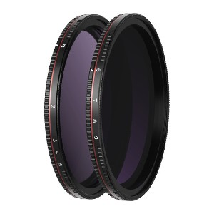 Freewell All-Day Variable Neutral Density - Best ND Filters for Portrait Photography: Variable Neutral Density Filter Allows You to Apply Differing amounts of density from scene to scene.