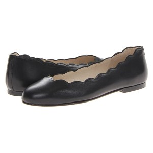 French Sole Jigsaw - Best Leather Flats: Unique Scalloped Flats