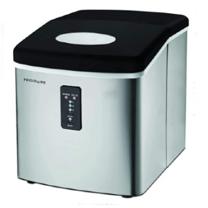 Frigidaire Ice Maker Machine Heavy Duty - Best Portable Ice Maker: Large Amount with Three Different Size Ice