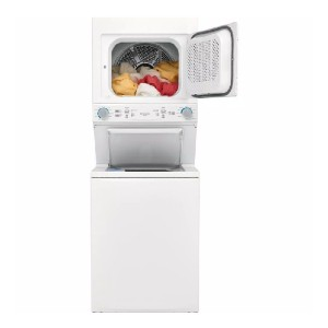 Frigidaire White Electric Washer/Dryer Laundry Center  - Best Commercial Washers: Convenient end-of-cycle signal