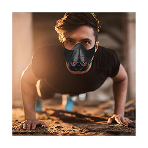 Friorange Fitness mask Achieve with 3 Level Air Flow Regulator - Best Masks for Working Out: Take Your Workout To The Next Level!