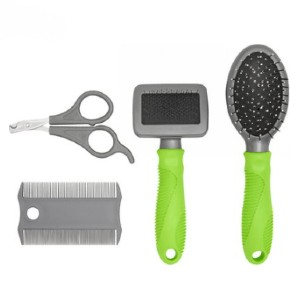 Frisco Beginner Grooming Kit for Dogs and Cats - Best Nail Clippers for Puppies: Sturdy Material Kit