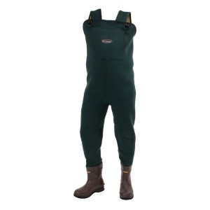 FROGG TOGGS Amphib Neoprene Bootfoot Chest Wader - Best Bootfoot Waders: Toasty with booties