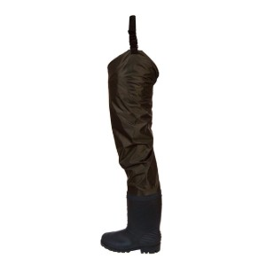 FROGG TOGGS Rana II PVC Bootfoot Hip Wader - Best Hip Waders for Fishing: Economical option with no-frill