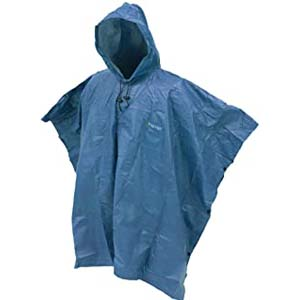 FROGG TOGGS Ultra-Lite2 Waterproof Breathable Poncho - Best Raincoats for Summer: Super light and easy to tote