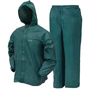 FROGG TOGGS Men's Ultra-Lite2 Protective Rain Suit - Best Raincoats for Men: Lightweight as if you carry nothing