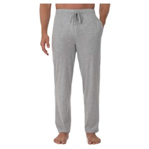 Fruit of the Loom Extended Sizes Jersey Knit Sleep Pant  - Best Sweatpants for Tall Men: Easy Care and Machine Washable