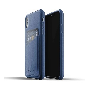 Mujjo Full Leather Wallet Case - Best Card Holder Phone Case: Fully Leather Covered Buttons