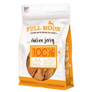Full Moon Full Moon Chicken Jerky Dog Treats - Best Dog Jerky Treats: Safe Ingredients