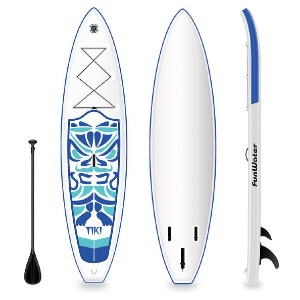 FunWater Inflatable Paddle Board SUP TIKI - Best Paddle Boards Under $500: Lightweight Paddleboard