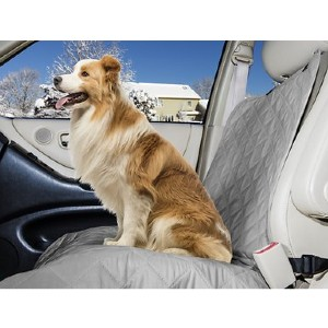 FurHaven Quilted Single Car Seat Cover - Best Dog Car Front Seat Covers: Foldable Cover