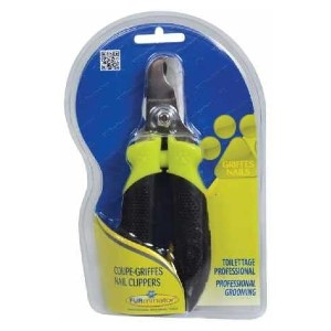 Furminator  Nail Clipper for Dogs & Cats - Best Nail Clippers for Puppies: Clipper with Adjustable Guide