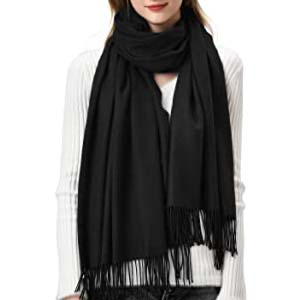 Furtalk Womens Winter Scarf Cashmere - Best Scarves for Winter: Soft and not itchy at all