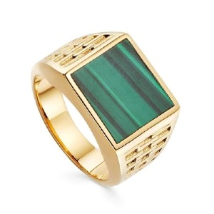 Missoma Fused Woven Gemstone Square Signet Ring - Best Jewelry for Mother's Day: Classy without being too flashy
