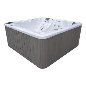 Futura Spas 6-Person 88-Jet Hot Tub with Lounger and Stainless Jets - Best Hot Tubs Under $5000: Hot Tub with 4 Cup Holders and Kinds of Seats