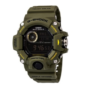 G-Shock Rangeman GW-9400  - Best Solar-Powered Watches: Rugged timepiece