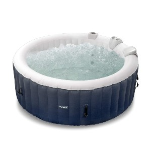 GALVANOX Inflatable Hot Tub - Best Two-Person Hot Tubs: Hot Tub with Durable PVC Material