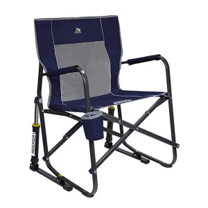 GCI Outdoor Freestyle Rocker Chair  - Best Folding Chair for Back Support: Rock you gently
