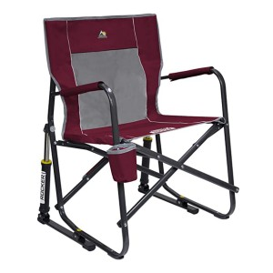 GCI Outdoor Freestyle Rocker Folding Chair  - Best Folding Chair for Sports: Rocking you gently