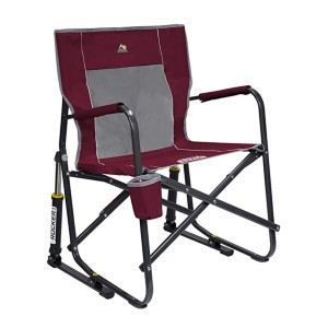 GCI Outdoor Freestyle Rocker Chair  - Best Folding Chair for Camping: Rocking you gently