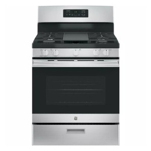 GE 30 in. 5.0 cu. ft. Gas Range - Best Gas Ranges for the Money: Most popular pick
