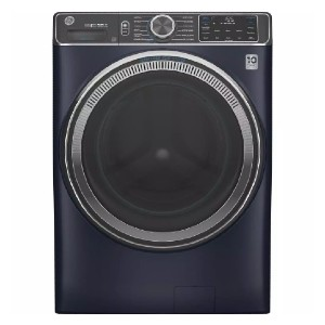 GE Sapphire Blue Front Load Washing Machine - Best Washers for Large Families: Eliminates odors