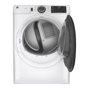 GE 7.8 Cu. Ft. 10-Cycle Electric Dryer  - Best Dryers Energy Efficient: 5-way venting options