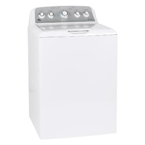 GE GTW500ASNWS Washer White - Best Washers Without Agitators: Optimal safe cleaning