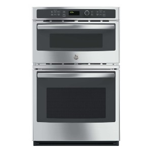 GE JK3800SHSS Combination Wall Oven - Best Wall Oven with Microwave: Built-in sensor