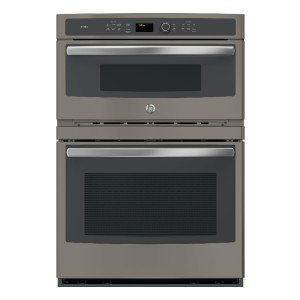 GE Profile PT7800EKES - Best Wall Oven with Microwave: Smooth glide rack