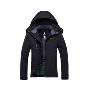GEMYSE Women's Mountain Waterproof - Best Rain Jackets for Alaska: Multi Pockets and Durable Fabric
