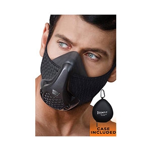 GO4FIT Workout MASK 24 breathing levels - Best Masks for Working Out: Great Resistance and Great Endurance!