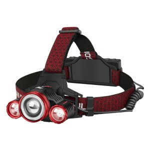 GOFORWILD 18650  - Best Headlamps with Red Light: Non-Slip and Adjustable