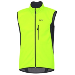 Gore Wear C3 Gore Windstopper Vest - Best Vests for Cycling: Neon Yellow Vest