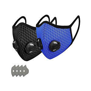 GORTES Cycling Face Bandanas - Best Masks for Glasses Wearers: No Steamy Glasses No More