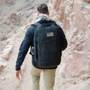 Goruck GR2 40L (Black) - Best Backpack for Travel: Backpack with three internal pockets