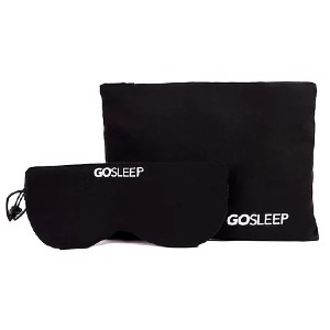 GOSLEEP Travel Pillow - Best Travel Pillow for Car Seat: Perfect pillow and mask