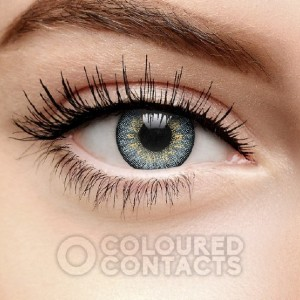 Coloured Contacts GRAY TRI TONE - Best Contact Lenses for Dark Eyes: FDA Approved and Natural Look Lenses