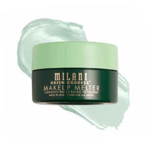 Milani GREEN GODDESS MAKEUP MELTER CLEANSING BALM - Best Makeup Remover Balms: Soothe, Nourish and Calm Skin