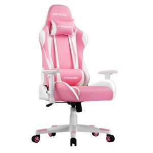 GTRACING GT002 - Best Gaming Chairs for Back Pain: Heavy-Duty Base and Nylon Smooth-Rolling Casters