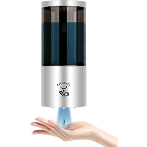 GUUKAR Wall Mount Touchless - Best Hand Sanitizer Dispenser: Premium Quality and Waterproof